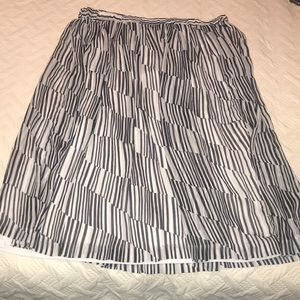 XL Banana Republic Skirt